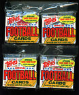 1989 Topps Football Card 12 Cello JUMBO Pack Wax Box