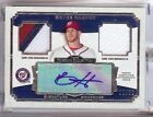 2013 TOPPS MUSEUM COLLECTION BRYCE HARPER AUTO 3 COLOR PATCH JERSEY 10 50!!