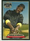 1996 Canadian Club Classic Teams Willie Stargell On Card Autograph with Cert