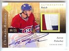 2011-12 ULTIMATE ROOKIES AARON PALUSHAJ RC AUTO 3 COLOR PATCH 06 25!!