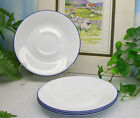 Lot of 4 Corelle Corning Ware FRUIT BASKET Too Frost Coffee Cup Saucers (only)