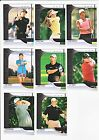 2012 SP Authentic Golf Authentic Rookies 9 Card Lot # to 999