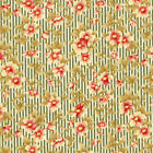 Fancy Hill Farms - Robyn Pandolph - Olive Floral Stripe