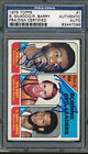 1975 76 Topps #1 Bob McAdoo Rick Barry PSA DNA Certified Authentic Auto *7096