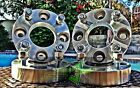 4 WHEEL ADAPTERS 1 THICK  4X45 TO 4X100  4 LUG 12X15  OR 4X1143 TO 4 X100