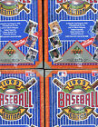 LOT OF 4 1992 Upper Deck Baseball Wax Pack Box Find the Ted Williams Heroes Set