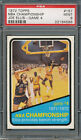 1972 73 Topps #157 NBA Championship Joe Ellis Game 4 PSA MINT 9 *4586