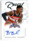 BRADLEY BEAL 2012 PANINI CRUSADE QUEST ROOKIE RC AUTO AUTOGRAPH CARD!