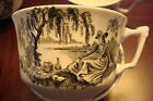 Adams & Sons, England, Real English Ironstone, MINUET pattern 5 cups