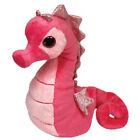 TY Beanie Baby - MAJESTIC the Pink Seahorse (6 inch) MWMT's - Stuffed Animal Toy
