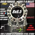8X65 TO 8X65 WHEEL SPACERS ADAPTERS 2 INCH  FITS MOST 8 LUG CHEVY GMC 14X15