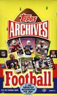 2013 TOPPS ARCHIVES FOOTBALL HOBBY BOX NEW FACTORY SEALED 2 AUTOGRAPHS PER BOX