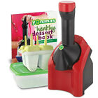 YONANAS Frozen banana/fruits/Nuts/Healthy Ice Cream/Dessert Maker Blender Red