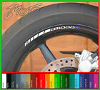 8 x Honda CB1000R Wheel Rim Stickers Decals - Many Colours - cb 1000 r r-a r-b