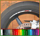 12 x HONDA VFR Wheel Rim Stickers Decals - 750f 800f 400 nc30 1200 nc24 vtec (A)