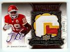 2008 EXQUISITE JAMAAL CHARLES RC AUTO 3 COLOR LETTER PATCH 199 199!! LAST ONE!!