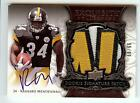 2008 EXQUISITE RASHARD MENDENHALL RC AUTO 3 COLOR PATCH 99 99!! LAST ONE!!
