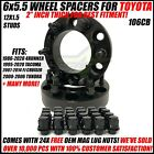 6X55 Hub Centric Wheel Spacers For Toyota 4Runner Tacoma 15 Inch 38mm 6x1397