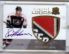 2010-11 THE CUP LIMITED LOGOS ERIC LINDROS AUTO LOGO PATCH 24 50!! WOW