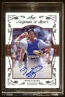 MIKE PIAZZA AUTOGRAPH #D 01 10 2011 LEGENDS OF SPORTS MINT 10 MADE FUTURE HOF?