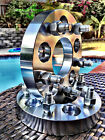 2 JEEP WHEEL SPACERS ADAPTERS  5X45  1 INCH THICK  25MM  1 2x20 LUGNUTS