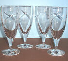 Waterford Siren Iced Beverage Glasses Set of 4 Crystal Made in Ireland 18 oz New