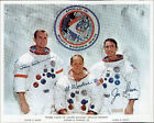 APOLLO 15 PRIME CREW AUTOPEN SIGNED NASA PHOTOGRAPH BM8017