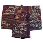 Antique Japanese Silk Embroidered Child's Kimono Meiji Period 18th/19th C.