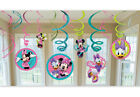 Minnie Mouse Bow tique Dangling Swirl Decorations 12 Piece Set 676597