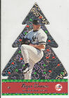 2001 PACIFIC DIE CUT CHRISTMAS ORNAMENT CARD ROGER CLEMENS #14