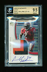 1 1 BGS 9.5 CARNELL WILLIAMS 2005 SP AUTHENTIC GOLD AUTO PATCH JERSEY #D 24 25