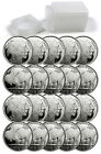 Roll of 20 - 2014 American Indian Buffalo 1 Troy Oz .999 Silver Rounds SKU30312