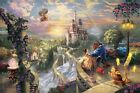 Thomas Kinkade Beauty & Beast Jigsaw Puzzle 750 Pc Ceaco Disney Dream Collection