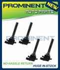 Set of 4 Ignition Coils for Suzuki Esteem Aerio Sidekick Vitara L4 C1159 UF 237