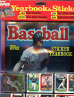 1990 Topps Yearbook Stickers Baseball Card Complete Box Set FACTORY SEALED