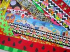 50PC+ OMG RIBBON GOODIES GROSGRAIN REMNANTS LOT MIX 4 OOAK HAIRBOW BOW SPIKES