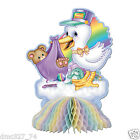 BABY SHOWER Decoration Party STORK Teddy Bear Beistle Table CENTERPIECE