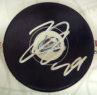Nathan Mackinnon Colorado Avalanche Signed NHL Logo Puck #1 Pick LOM COA nm3