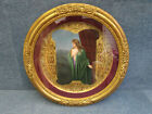 ROYAL VIENNA PORCELAIN CHARGER FRAMED