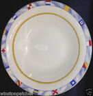 FITZ & FLOYD HABITAT AMERICANA REGATTA SOUP CEREAL BOWL 16 OZ NAUTICAL DESIGNS