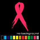 Breast Cancer Ribbon Sticker Vinyl Decal Wall Bow Car Window Laptop Fight Girl