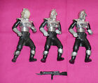 vintage Battlestar Galactica LOT OF 3 CYLON CENTURIANS with ONE WEAPON