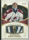 2010 11 Ultimate Collection Hockey Craig Anderson Dual Patch Card # 3 35