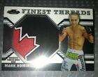 2011 TOPPS FINEST THREADS UFC MARK HOMINICK RELIC RC CARD CANADA FLAG MAPLE LEAF