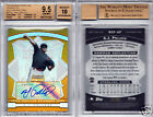 AJ POLLOCK RC AUTO 2009 BOWMAN STERLING GOLD REFRACTOR #'d 50 BGS 9.5 10