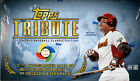 2013 TOPPS TRIBUTE WORLD BASEBALL CLASSIC ED HOBBY BOX FACTORY SEALED NEW