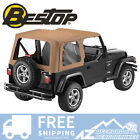 Bestop Sailcloth Replace A Top Clear Windows Spice For 97 02 Jeep Wrangler TJ