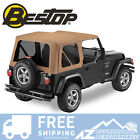 Bestop Sailcloth Replace A Top Tint Windows Spice For 97 02 Jeep Wrangler TJ
