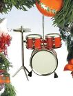 Realistic Red Drum Set Christmas Ornament 3 Tall by Broadway Gifts NIB