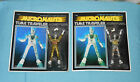 SPECIAL vintage Mego Micronauts YELLOW  CLEAR TIME TRAVELER MOC LOT free ship